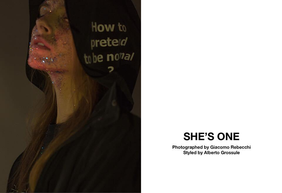 SHE'S ONE – CAKE MAG MAGAZINE 2016